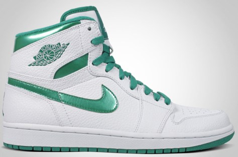 Air Jordan 1 High Retro White Sea Green