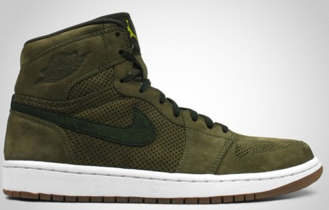 Air Jordan 1 High Retro Premier EPM Urban Haze Dark Army Bright Cactus