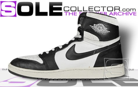 Air Jordan 1 High OG White Black