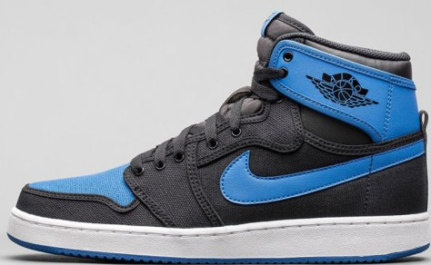 Air Jordan 1 Retro KO High OG Black Sport Blue Black