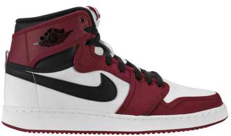 Air Jordan 1 Retro KO High OG White Black Gym Red