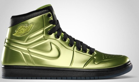 Air Jordan 1 High Retro Anodized Altitude Green Black