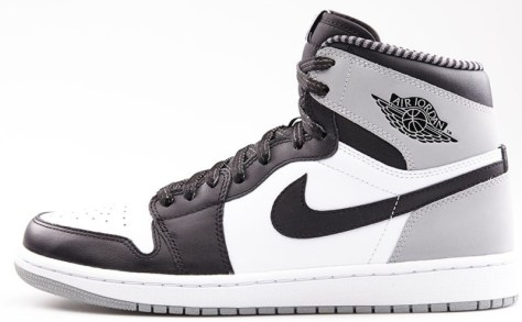 Air Jordan 1 Retro High OG White Black Wolf Grey