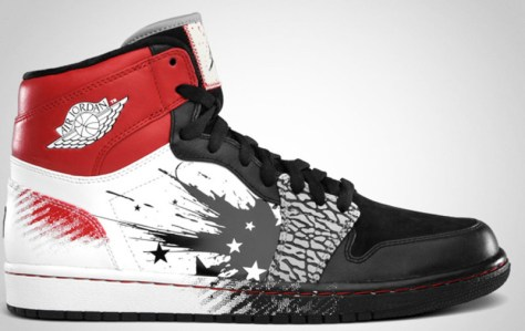 Air Jordan 1 Retro High DW Black Sport Red White
