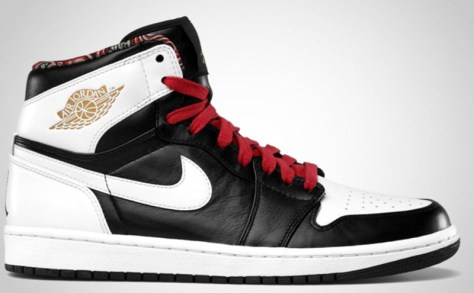 Air Jordan 1 Retro High RTTG Black Metallic Gold Gym Red White