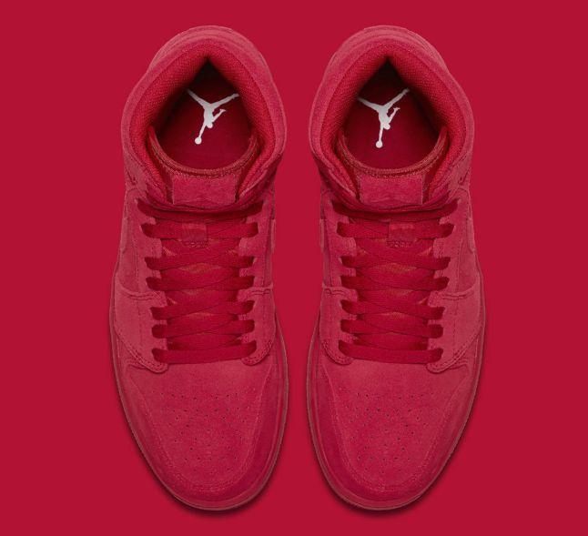 Air Jordan 1 High Red Suede Release Date Top 332550-603