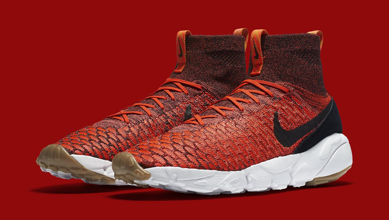 Nike Footscape Magista Bright Crimson Black Gum  Sole