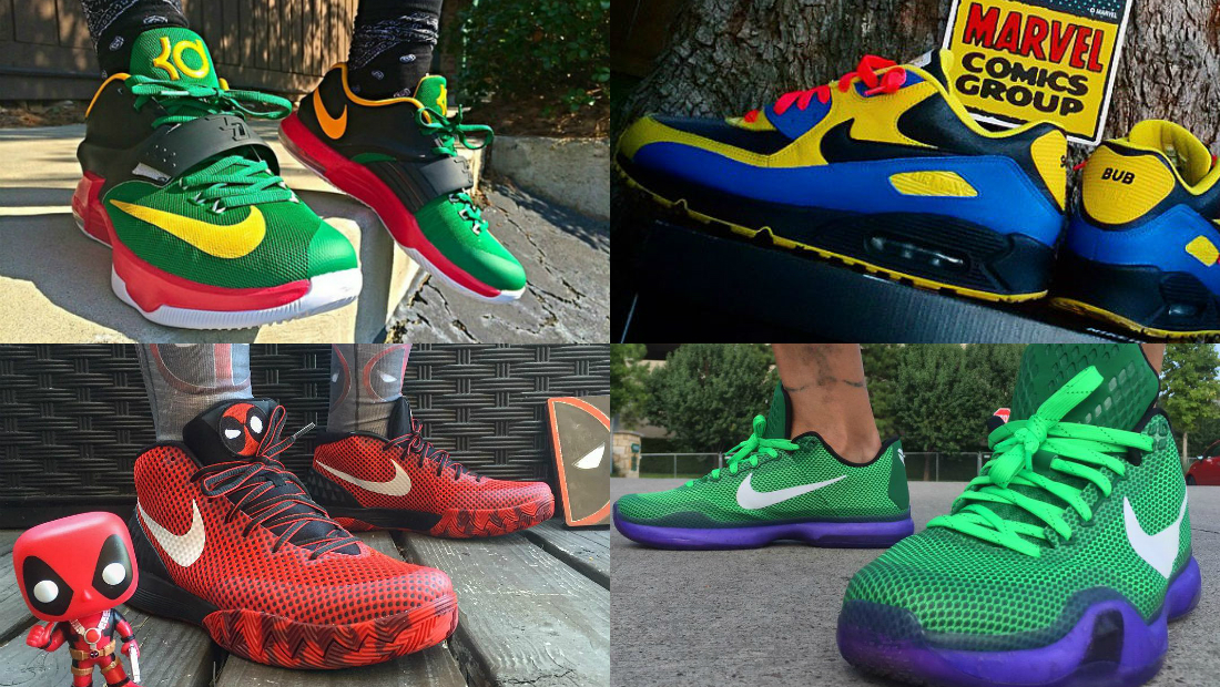 The Best NIKEiDs Inspired By Superheroes Sole Collector
