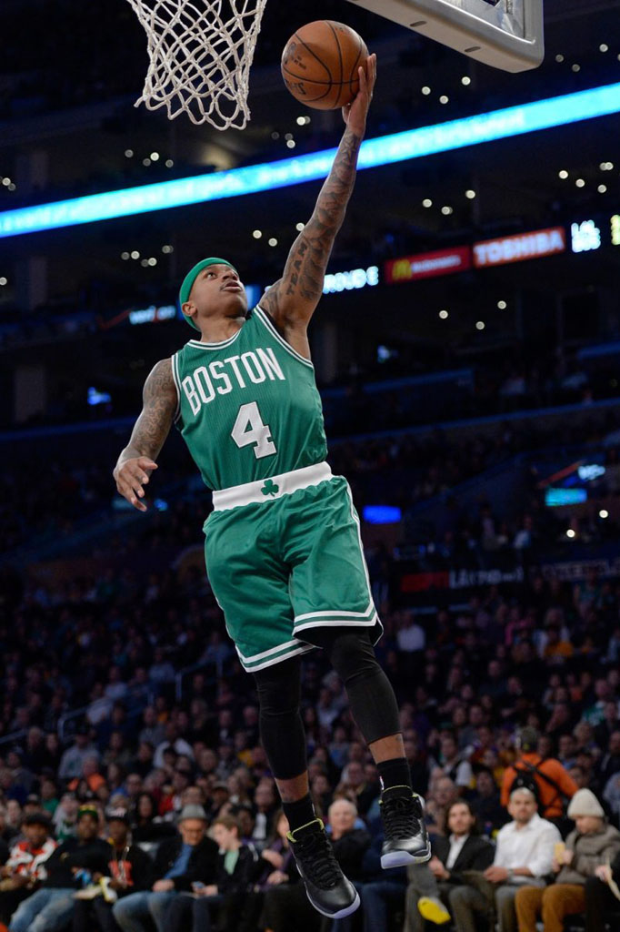 SoleWatch Isaiah Thomas Makes Celtics Debut in the