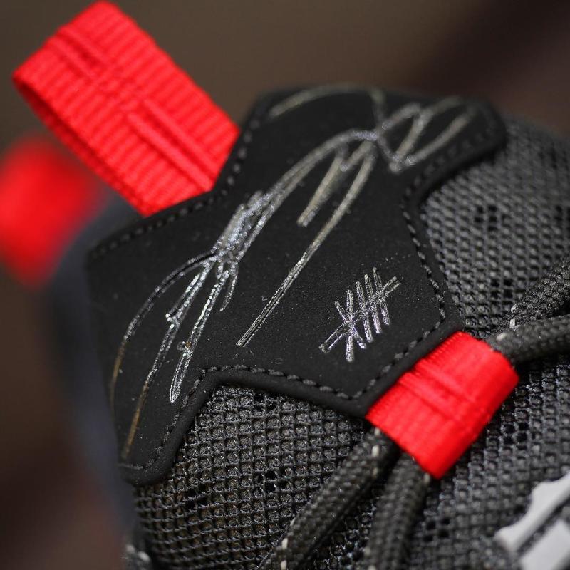 Nike LeBron 13 Low Black/Red (7)