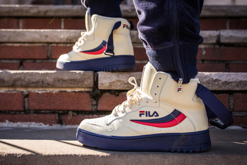 Packer Shoes Fila FX100 Cream Sole Collector