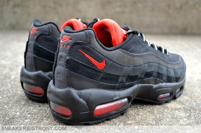 Nike Air Max 95 Essential Black/Challenge Red (4)