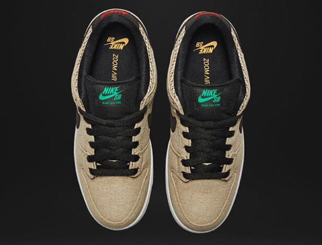 ab69f70982e4c Both the Dunk Low and Zoom GTS will be arriving at select NIKE SB suppliers  with their natural look on April 16th.