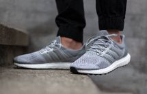 Black Ultra Boost Adidas On Feet