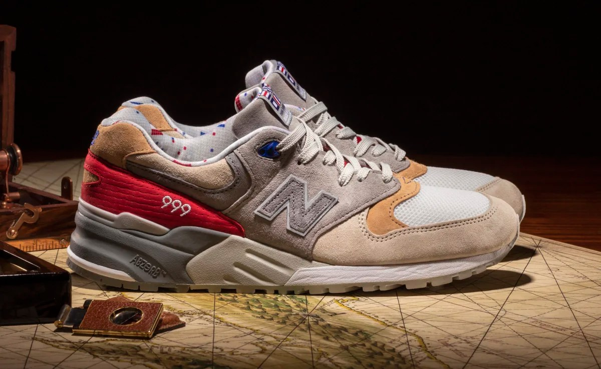 Concepts New Balance 999 Kennedy Red Blue Release Date