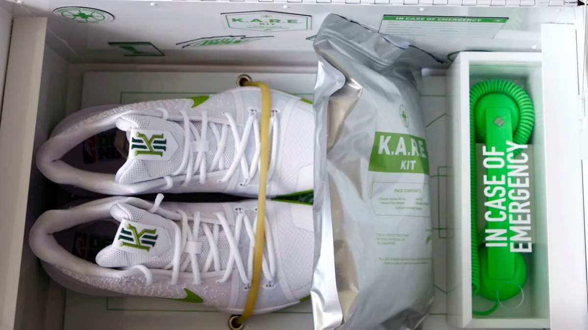 Nike Kyrie Irving Mountain Dew KARE Kit  Sole Collector