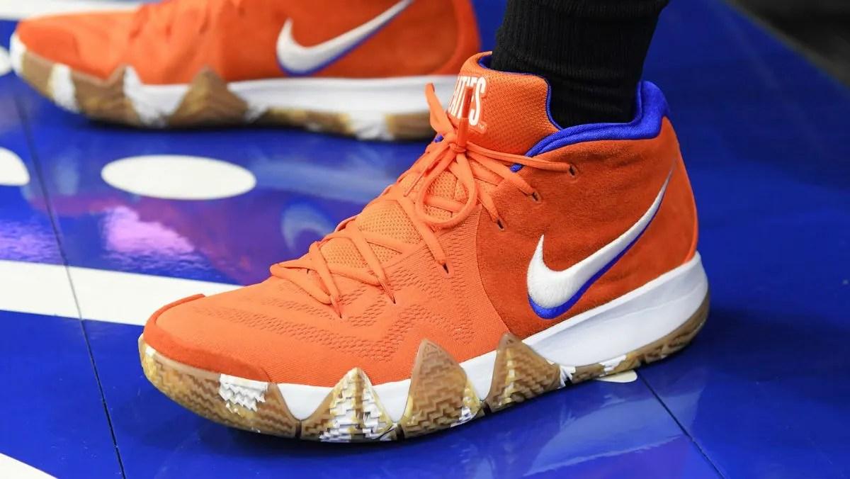 Jayson Tatum Wheaties Nike Kyrie 4  Sole Collector