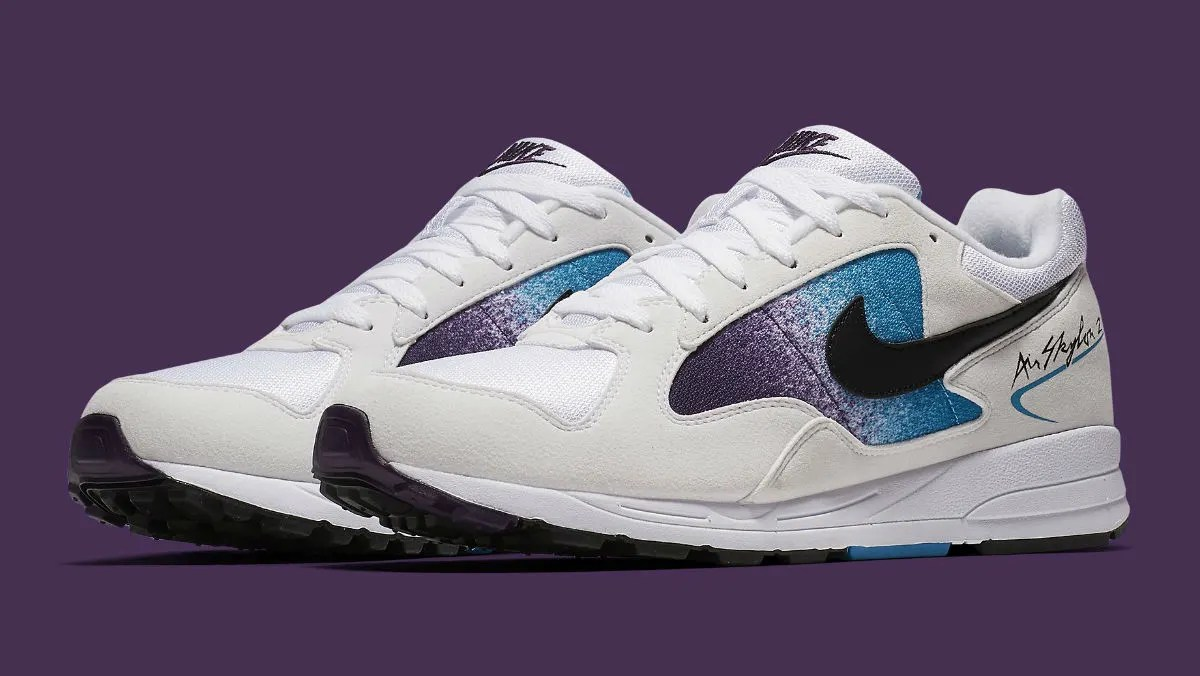 Nike Air Skylon 2 Release Date Eggplant AO1551100 Solar Red AO1551103  Sole Collector