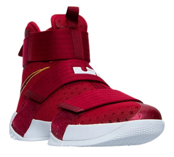 Nike LeBron Soldier 10 Christ the King Cavs Team Red Side
