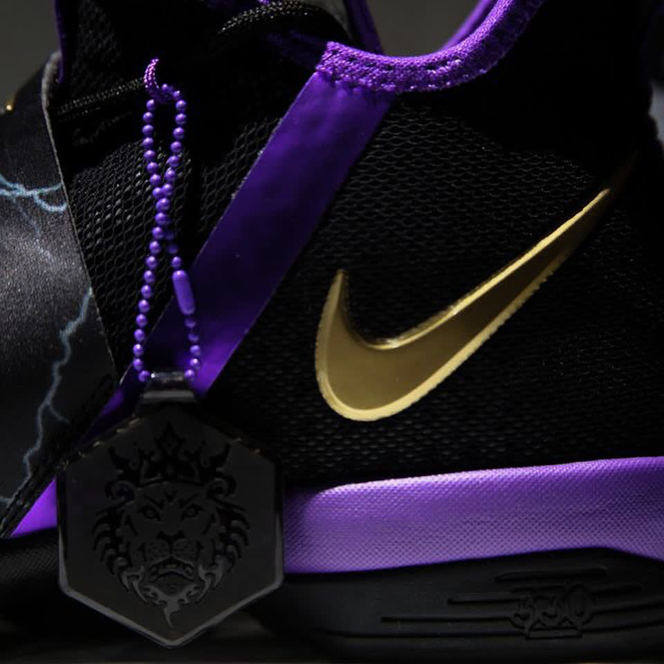 Lebron Basketball Shoes Purple