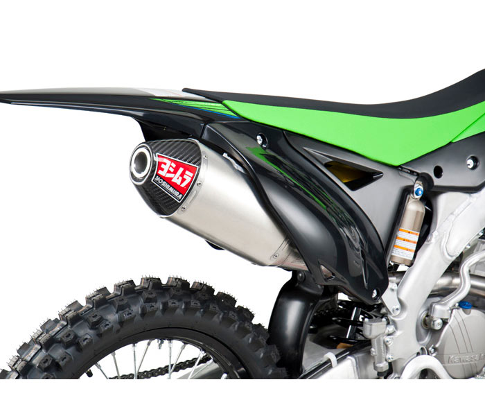 yoshimura rs 4 competition series exhaust for kx250f 10 13