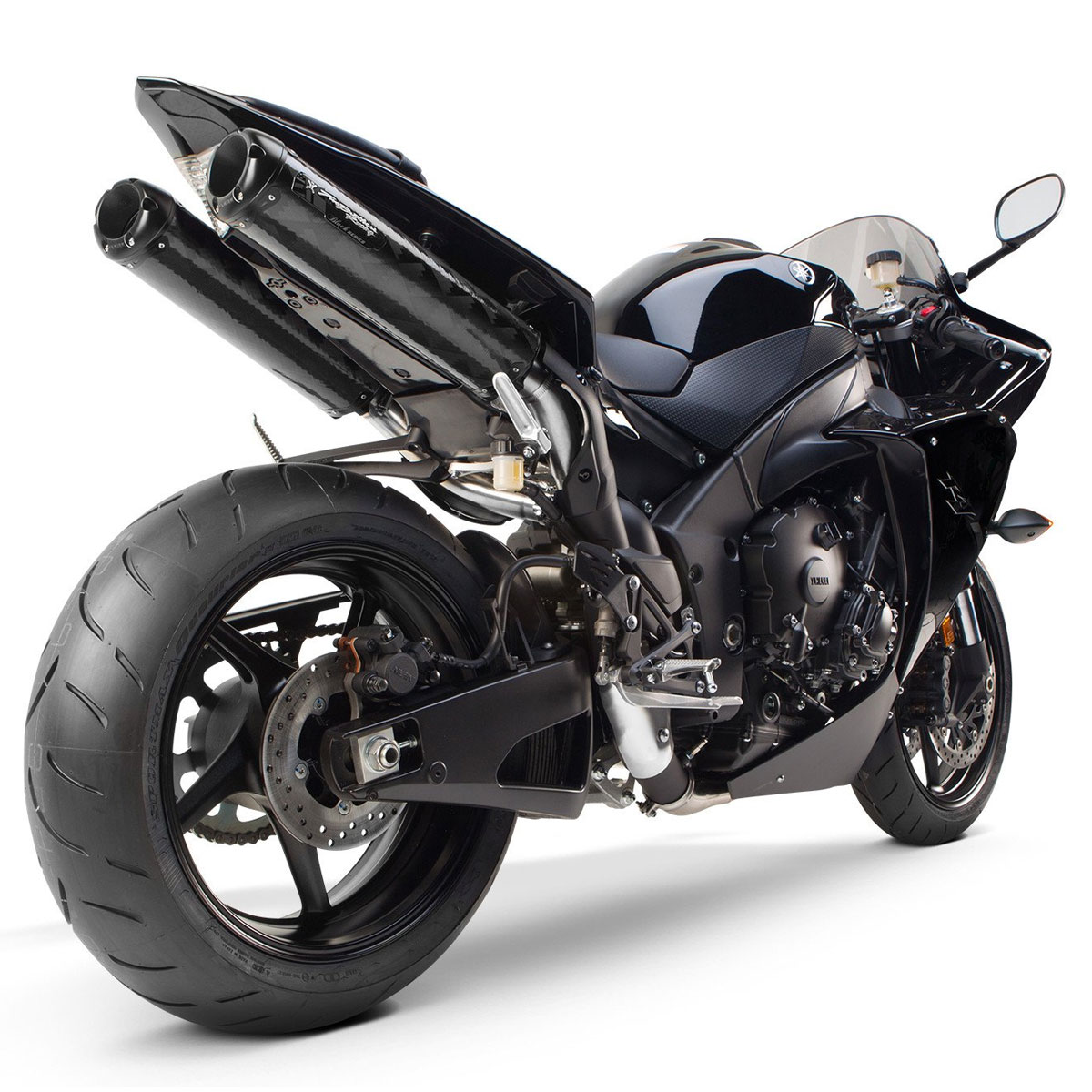 two brothers m2 dual slip on exhaust for yzf r1 09 14