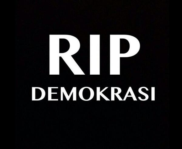 RUU Pilkada RIP Demokrasi