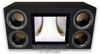 Custom Enclosures Sony Dbp12 12 Bandpass Sub Boxes