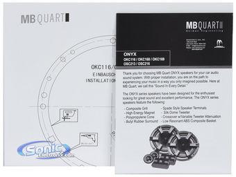 MB Quart OSC216 6.5