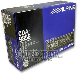 alpine cda 9856 wiring diagram nissan navara d40 towbar cda9856 ipod ready cd mp3 wma player product name