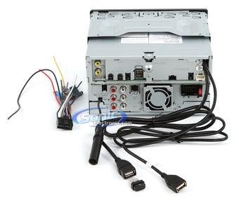 kenwood excelon stereo wiring diagram 12n 12s dnn770hd gps car w/ bluetooth, wi-fi