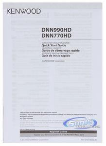 Kenwood eXcelon DNN770HD GPS Car Stereo w/ Bluetooth, Wi-Fi