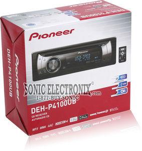 Pioneer DEH P4100UB Dehp4100ub In Dash CD MP3 WMA ACC