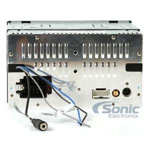 Power Acoustik PDN626B Double DIN InDash Navigation DVDCDAMFM Car Stereo w 62