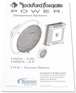 Rockford Fosgate POWER T152-S 5.25