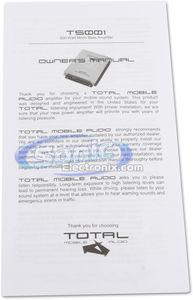 TOTAL Mobile Audio T500.1 (t5001) 500W RMS, Monoblock