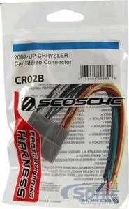 Scosche Cr02b Wire Harness For Select Chrysler