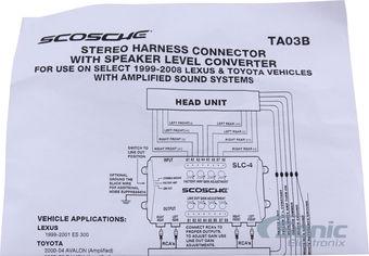Scosche Wiring Harness Scosche Wiring Harness Diagram Wiring