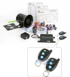 Prestige APS25N Car Alarm Vehicle Security System With Shock