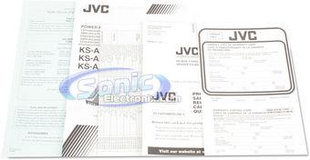 JVC KS-AX6700 (ksax6700) 600W Max, 2-Channel Power Amplifier