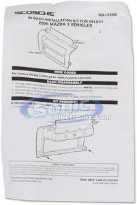 Scosche MA1536B Single DIN Installation Dash Kit for 2004