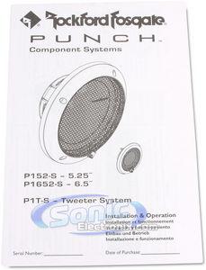 Rockford Fosgate PUNCH P152-S 5.25