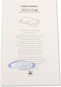 JL Audio Slash v2 300/4v2 4-Channel Car Amplifier