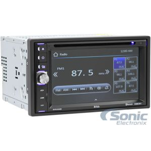 Boss BV9538B Double DIN Bluetooth DVD Car Stereo Receiver
