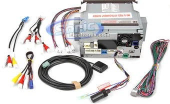 how to install a car stereo system wiring diagram mitsubishi canter eclipse avn62d double din 7