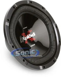 Sony Explodes 12 Subs : explodes, XS-L121P5W, Xplod, Subwoofer, Sonic, Electronix