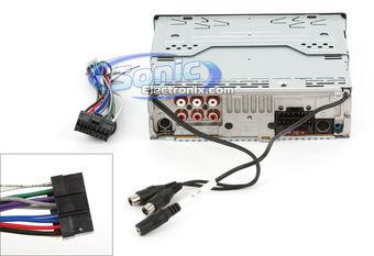 Amp Radio Subwoofers Wiring Sony Mex Bt3800u Mexbt3800u In Dash Cd Mp3 Wma Acc