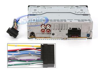 Sony CDX GT440U Cdxgt440u In Dash CD MP3 WMA AAC AM FM