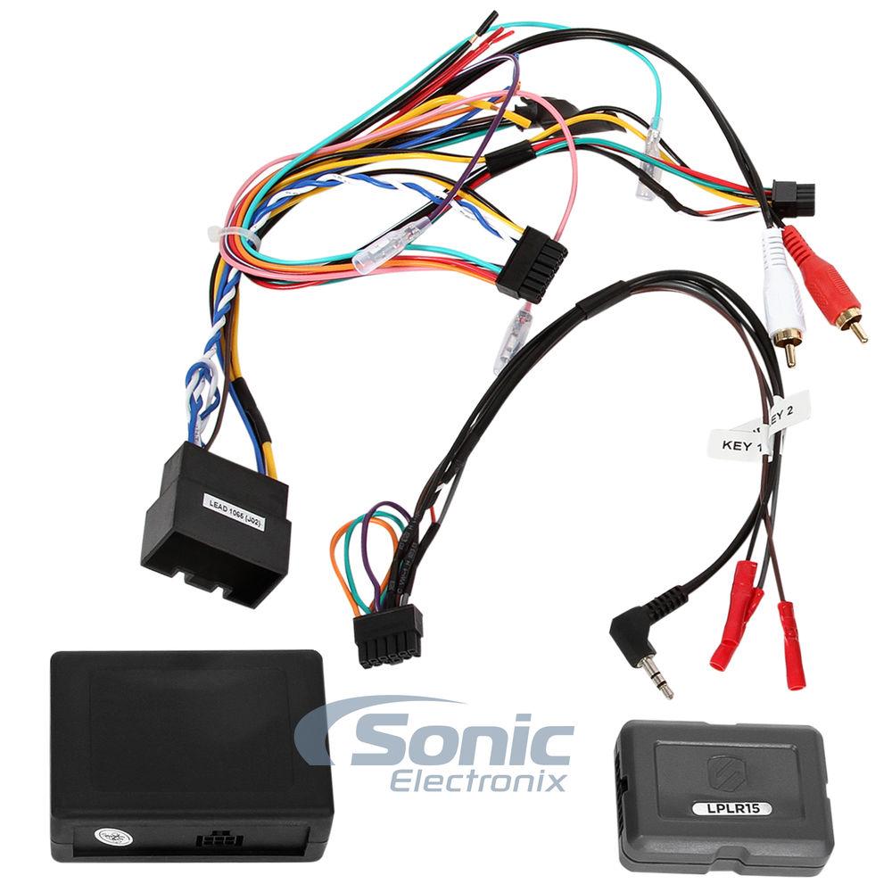 medium resolution of details about scosche lplr15 wire harness 2006 2012 range rover vogue fiber amp link interface