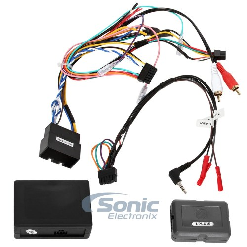 small resolution of details about scosche lplr15 wire harness 2006 2012 range rover vogue fiber amp link interface